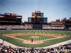 Turner Field (Atlanta)...Saw the Braves face the Washington Nationals during the summer of 2006.