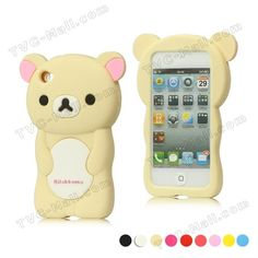 Wholesale 3D Silicone Case for iPod Touch 4,Rilakkuma Animal Case Different Colors+Retail Package Free Shipping on AliExpress.com. $9.50