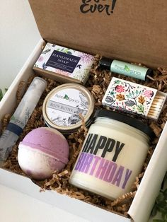 Birthday Gift For Her Mom Box Aunt Friend