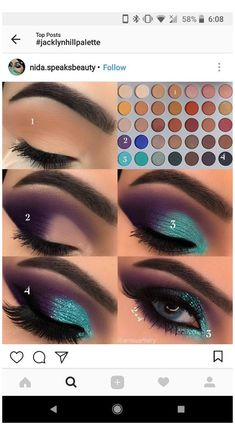 Makeup Eye Looks, Eye Makeup Steps, Eye Makeup Art, Beautiful Eye Makeup, Lip Makeup, Beauty Makeup, Makeup Hooded Eyes, Maquillage Black, Eye Makeup Designs