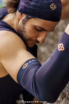 COPPER88™ Compression Sleeves are ideal for all sports, water activities, while at work, resting at home, and across all your daily tasks - 24 hours a day, 7 days a week.