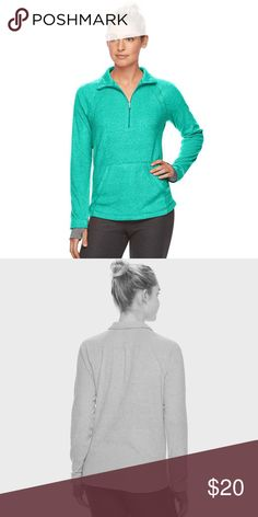 ➰ New Listing ➰ Product Details Be ready for cooler weather with this women's Tek Gear microfleece top. New with tags, never worn. No trades.   PRODUCT FEATURES • Perfect for low-impact activities such as walking • Soft and warm microfleece construction • Half-zip front • Zipper guard • Mockneck • Long raglan sleeves • Jersey cuffs with thumb holes • 1 pocket FABRIC & CARE Polyester & Machine wash tek gear Tops Sweatshirts & Hoodies