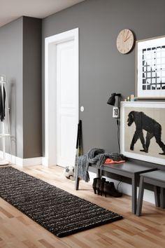 Teppich Schöner Wohnen Maestro dunkelbraun Streifen