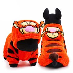 """The wonderful thing about Tiggers....Is Tiggers are wonderful things""..Bring back a childhood hero with our Tigger Dog Hoodie! https://www.dressyourdoggy.com/collections/funny-dog-costumes/products/tigger-dog-hoodie?variant=33291958546"