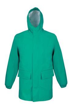 """ХИМЗАЩИТНАЯ КУРТКА Артикул: 420 Куртка с центральной бортовой застежкой на тесьму – """"молнию"""", с защитной планкой на потайные кнопки, с капюшоном; и с двусторонними герметичными швами. Рукава на резинке защищают от проникновения химических веществ. Куртка выполнена из химзащитной ткани Plavitex Chemo. Предназначена для работы на предприятиях, защищает от кислот и щелочей. Изделие отвечает европейским стандартам: EN ISO 13688 и EN 13034:2005+A1:2010."""
