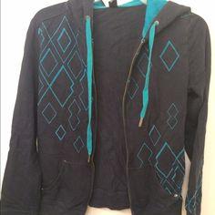 Dark blue zip up  Empyre hoodie. Dark blue zip up hoodie great condition. Tops Sweatshirts & Hoodies