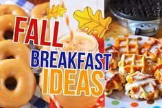 fall breakfast ideas healthy diy food diy