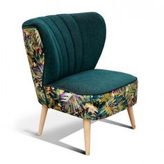 fotel klubowy PRL lata 50 60 uszak Accent Chairs, Armchair, Living Room, Interior Design, Furniture, Home Decor, Chairs, Dinner Room, Chair