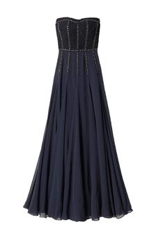 Silk and Lace Gown