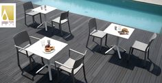 Restaurants, Bar Restaurant, Commercial Furniture, Outdoor Furniture Sets, Outdoor Decor, Dining Table, Indoor, Sledge, Design