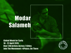 Modar Salameh is a Syrian Drummer, born in Damascus, currently based in Amsterdam, studied at the Higher Institute of music in Damascus as a classical percussion player.