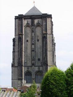 Zierikzee monumentenstad. Vroeger. Bezienswaardig. Monumenten. Sint Lievensmonstertoren.