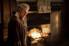 """The Duke of Sandringham (Simon Callow) in Episode 211 """"Vengeance Is Mine"""" of Outlander Season Two on Starz"""