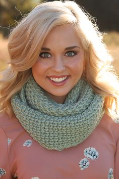 Wrapped Up In You Scarf: Mint #shophopes