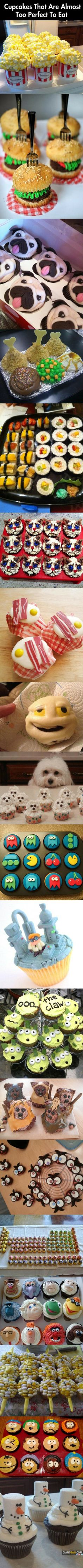 Funny pictures of the day - 101 images - Cupcakes That Are Almost To Perect Too Eat