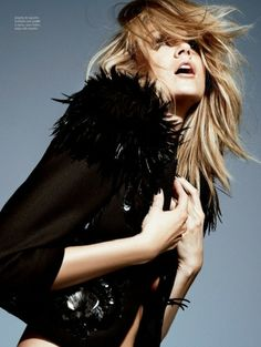 Lindsay Ellingson by Marco Santini for Elle Brasil!