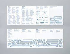 Pentagram's mind-bending typeface for AIA gala   Typorn.org