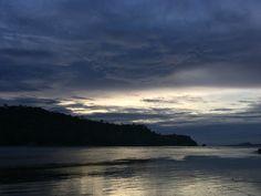 Sunset at Dalaruan, Puerto Galera, Oriental Mindoro, Philippines