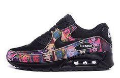 Nike Air Max 90 Marylin Monroe Black Runing Shoes
