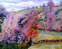 Crozant Landscape (also known as Grey Weather) Armand Guillaumin - circa 1910