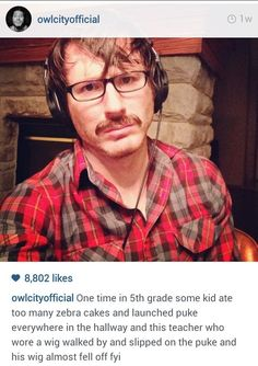 His stories | Community Post: 22 Reasons Why Adam Young's Instagram Is The Best Thing Ever// Seriously, check this out. XD