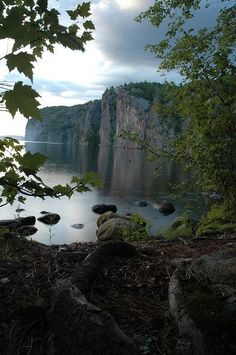 Bon Echo Provincial Park, Ontario,one of the best places to camp in ONTARIO. Wilderness Campsites.
