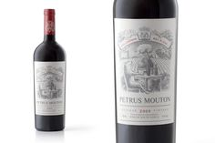 Petrus Mouton Wine — The Dieline - Branding & Packaging Design