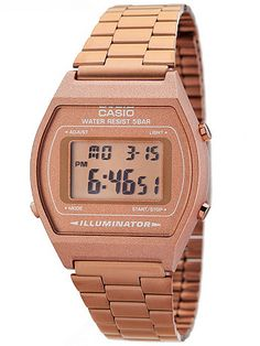 Though Casio was first put on the map in 1957, when it released the world's first entirely electric compact calculator, the company is also the earliest manufacturer of both digital and analog quartz crystal watches. Many pieces in our Casio collection were manufactured in the 1970s, 80s and 90s, and are now exclusive limited edition collector's items that are no longer in production and rather difficult to track down. We hand-picked each watch for its high-quality and timeless aesthetic…