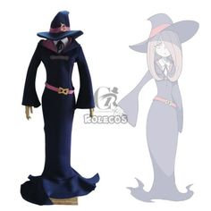 Little-Witch-Academia-Manbavaran-Sucy-Cosplay-Costume-Dress-Outfit-With-Hat