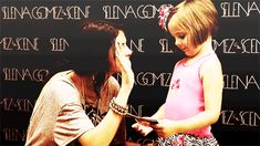 She's great with kids. | 11 Reasons Selena Gomez Is Going To Be An Awesome Big Sister
