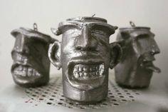"""""""The three drunk monkeys 2012 Recycled Art, Monkeys, Artworks, Sculpture, Mugs, Tableware, Instagram Posts, Rompers, Dinnerware"""