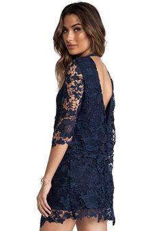 Shop Blue Long Sleeve Crochet Lace Backless Dress online. Sheinside offers Blue Long Sleeve Crochet Lace Backless Dress & more to fit your fashionable needs. Free Shipping Worldwide!