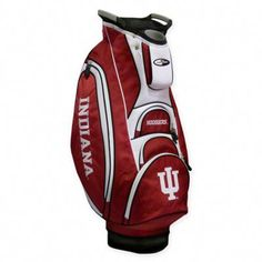 Team Golf Indiana University Victory Cart Golf Bag - Golf Equipment, Collegiate Golf Products at Academy Sports Golf Card Game, Dubai Golf, Golf Stand Bags, Golf Pride Grips, Golf Clubs For Sale, Golf Accessories, Golf Fashion, Ladies Fashion, Ladies Golf