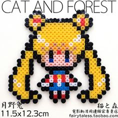 [Original] cat Sen Sailor} {DIY handmade beads spell kits finished 11 Sailor Moon - Taobao