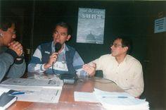Entrevistándome con Jaime Pacheco y Tito García en Radio Máxima.
