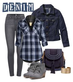 """""""Untitled #4279"""" by barones-tania ❤ liked on Polyvore featuring Patagonia, Paige Denim, Dr. Scholl's, Chloé, Gorjana and Panacea"""