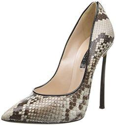 d2c9c8367e2 Casadei Women s Serpetine Pointed Toe Dress Pump Trendy Girl