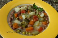 Refreshing and Healthy Minestrone