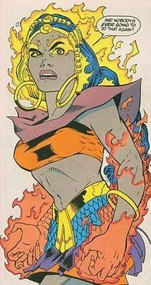 Who wouldn't want the ability to control water and fire? Well, this DC creation who first appeared in Justice League International (JLI) in 1993 does precisely that: Indian superhero Chandi Gupta or Maya discovered these abilities at a very young age, and eventually channelled them into fighting for the JLI.