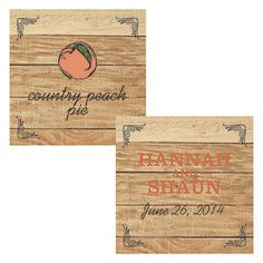 Fruit Square Tags