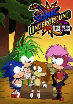 SonicUnderground Meet Tails (with title) by PolarStar.deviantart.com on @DeviantArt