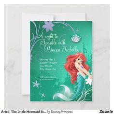 Little Mermaid Birthday, Little Mermaid Parties, Disney Birthday, Ariel The Little Mermaid, Princess Birthday, 3rd Birthday, Birthday Ideas, Princess Party, Birthday Gifts