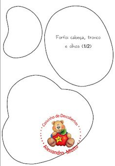Moldes de EVA para festa de aniversário » Artesanato Brasil