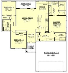 If you are going to build a barndominium, you need to design it first. And these finest barndominium floor plans are terrific concepts to begin with. Jump this is a popular article Custom Barndominium Floor Plans Pole Barn Homes Awesome. Best House Plans, Dream House Plans, Small House Plans, House Floor Plans, Plan Design, Home Design, The Plan, How To Plan, Plan Plan