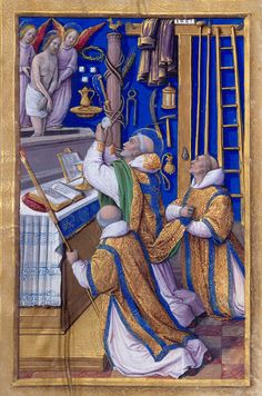 Mass of St. Gregory | Hours of Henry VIII | Illuminated by Jean Poyer | ca. 1500 | The Morgan Library & Museum