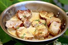 Filet Mignon With Mustard - recette - - Et Yemekleri - Las recetas más prácticas y fáciles Pork Recipes, Chicken Recipes, Cooking Recipes, Healthy Recipes, Filet Migon, Food Porn, Comfort Food, Food Inspiration, Main Dishes