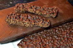Receta de turrón de chocolate y arroz inflado - http://navidad.es/16706/receta-turron-chocolate-arroz-inflado/