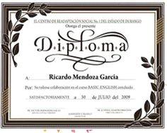 Resultado de imagen para diploma para estilistas