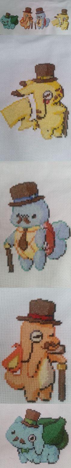 Classy Cross Stitched Gentlemon