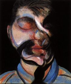 Francis Bacon - Three studies for self-portrait, 1972 right